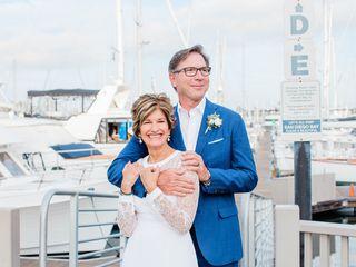 The wedding of Chris and David