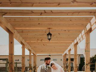 The wedding of Emily Dobbins and Jacob Dobbins 1