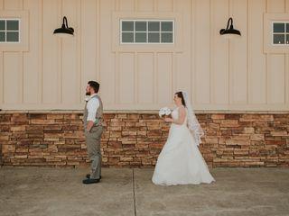 The wedding of Emily Dobbins and Jacob Dobbins