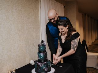 The wedding of Serena and Dan 1