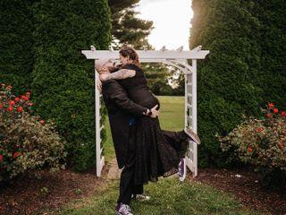 The wedding of Serena and Dan
