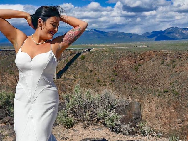 Courtney and Amy Lynn's Wedding in Taos, New Mexico 2