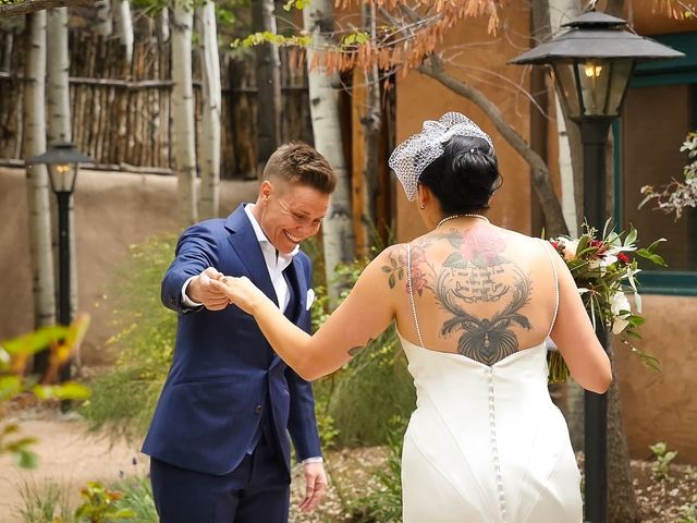 Courtney and Amy Lynn's Wedding in Taos, New Mexico 8