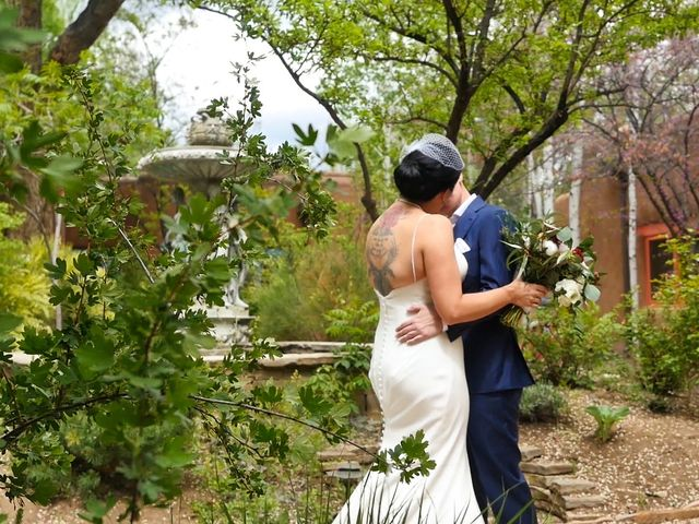Courtney and Amy Lynn's Wedding in Taos, New Mexico 10