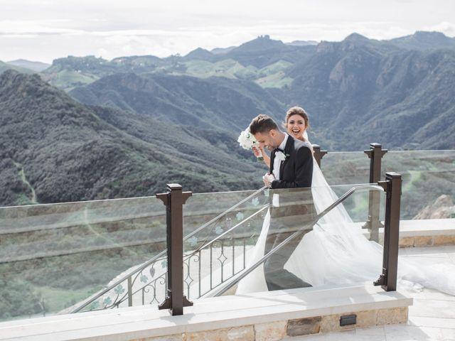Nadine and Nour's Wedding in Malibu, California 10