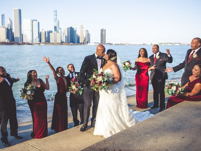 Dene and Chris's Wedding in Chicago, Illinois 33