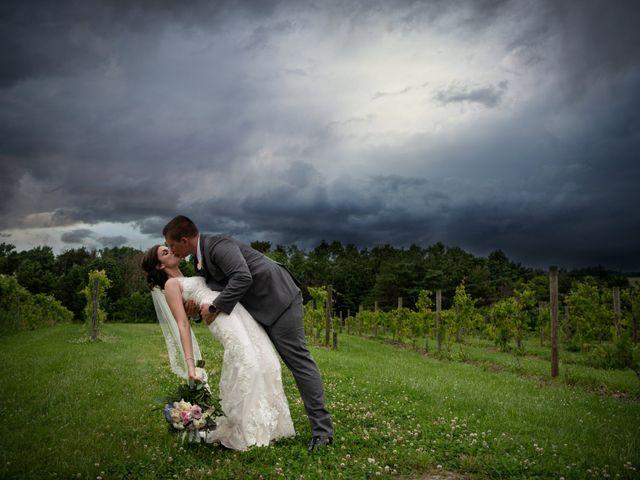 The wedding of Kayla and Jacob