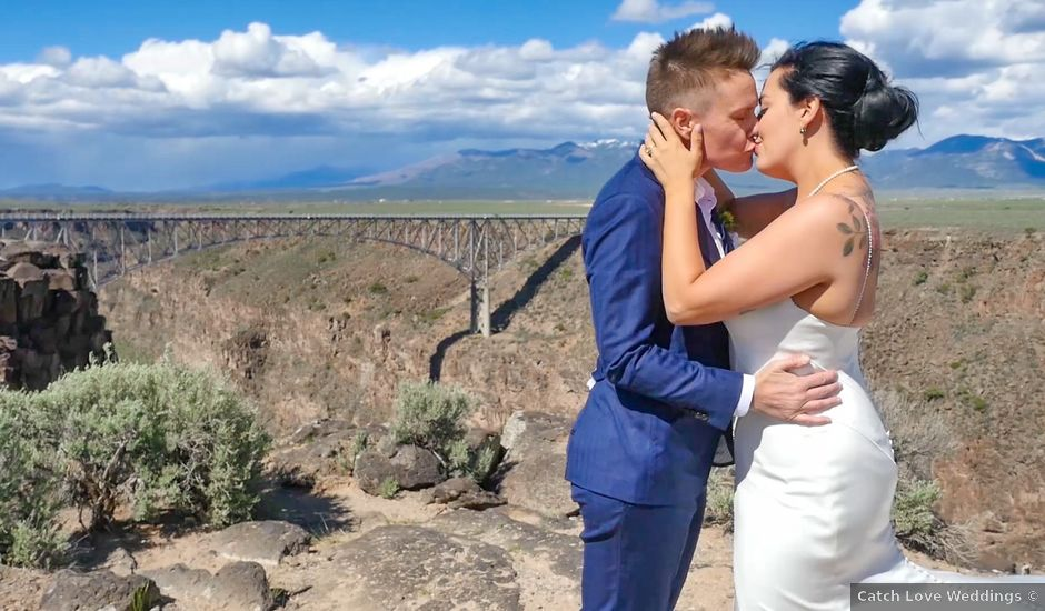 Courtney and Amy Lynn's Wedding in Taos, New Mexico
