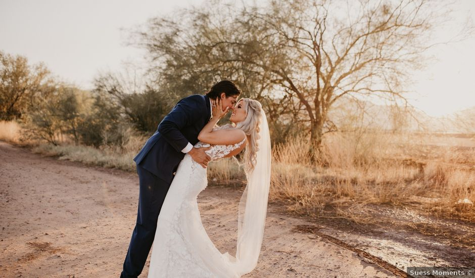 Spenser and Brittany's Wedding in Laveen, Arizona