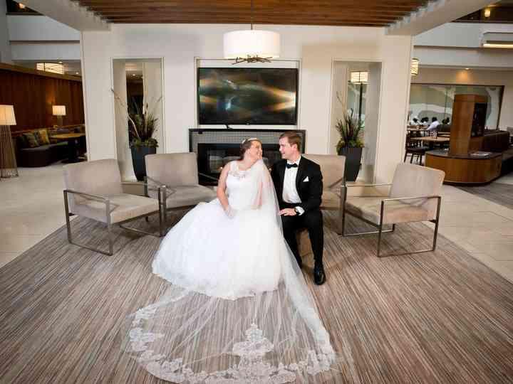 The wedding of Amanda and Zack