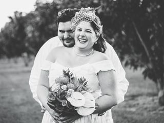 The wedding of Jessica and Danny 1