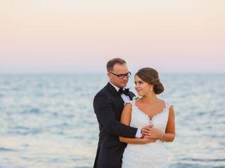 The wedding of Jillian and Brandon