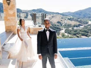 The wedding of Iman and Clairmont 2