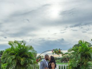 The wedding of Melonie and Bixby 1