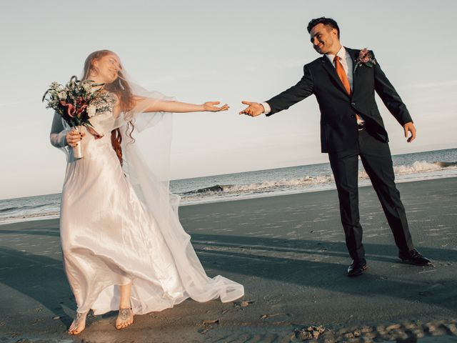 The wedding of Melanie and Terre