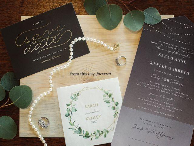 Kenley and Sarah's Wedding in Dallas, Texas 5