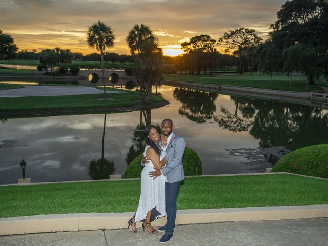 Bixby and Melonie's Wedding in Howey in the Hills, Florida 9