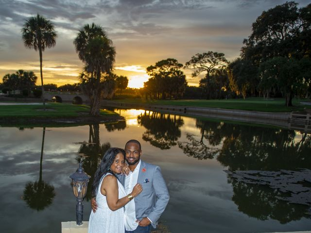 Bixby and Melonie's Wedding in Howey in the Hills, Florida 10