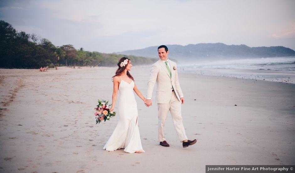James and Thayer's Wedding in Santa Teresa, Costa Rica