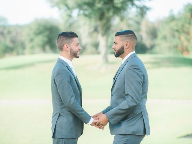 Joey and Nick's Wedding in Brooksville, Florida 6