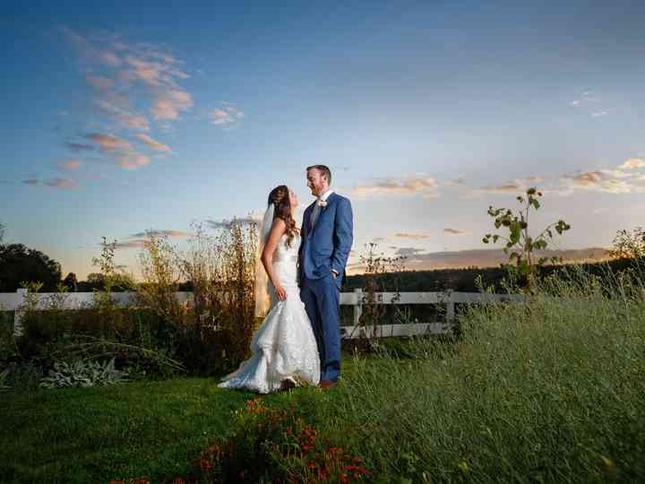 The wedding of Erica and Ryan