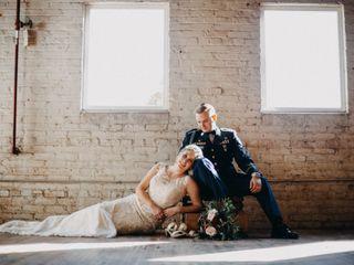 The wedding of Savanna and Peter
