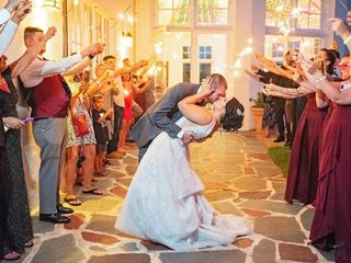 The wedding of Kylie and Weston
