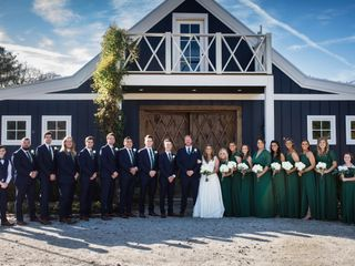 The wedding of Ansley  and Drew  3