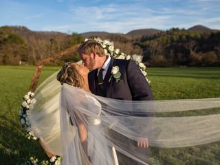 The wedding of Ansley  and Drew