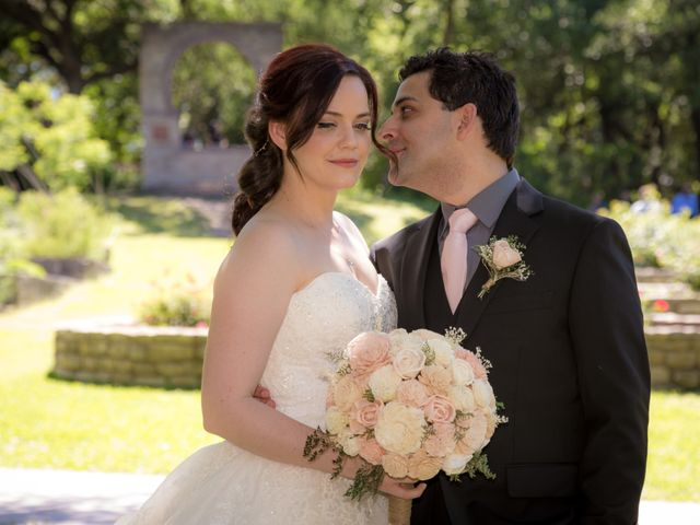 The wedding of Bethany and Ethan