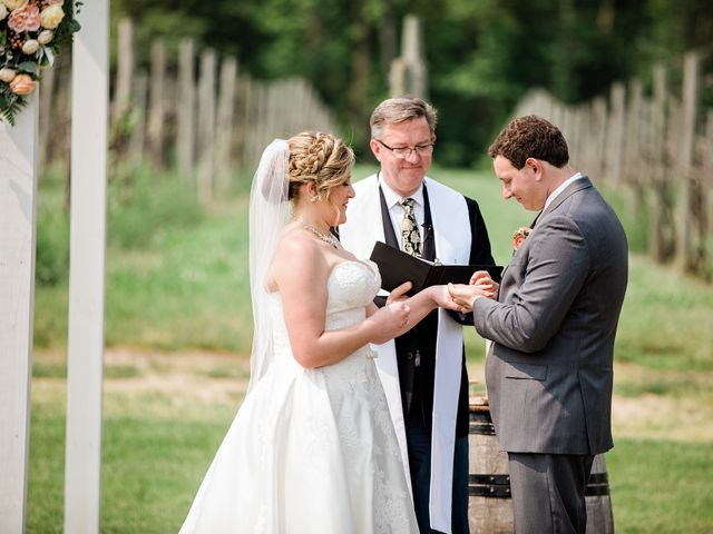 Edward and Diana's Wedding in Buchanan, Michigan 46