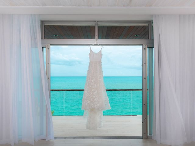 Jonathan and Natasha's Wedding in Grace Bay, Turks and Caicos 9