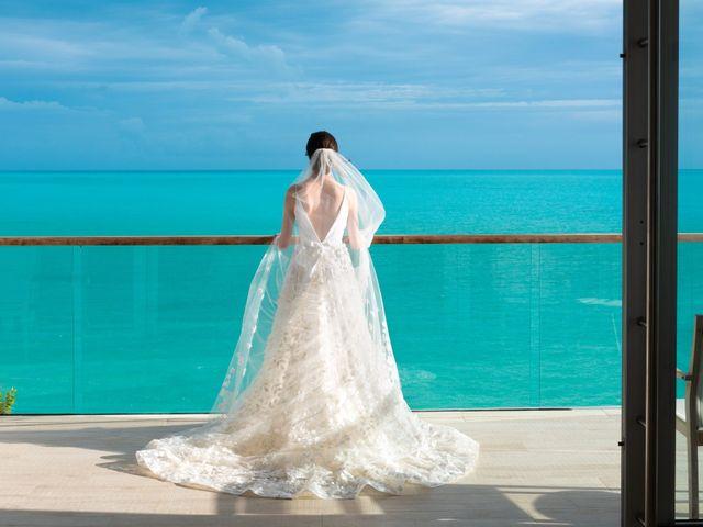 Jonathan and Natasha's Wedding in Grace Bay, Turks and Caicos 11