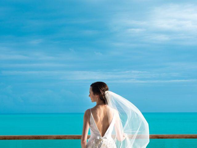 Jonathan and Natasha's Wedding in Grace Bay, Turks and Caicos 1
