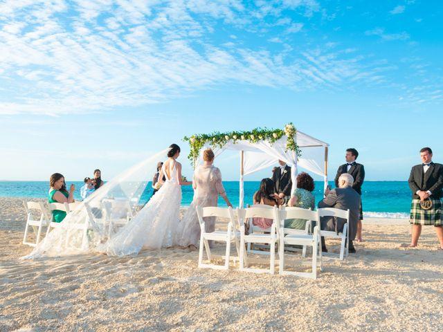 Jonathan and Natasha's Wedding in Grace Bay, Turks and Caicos 2