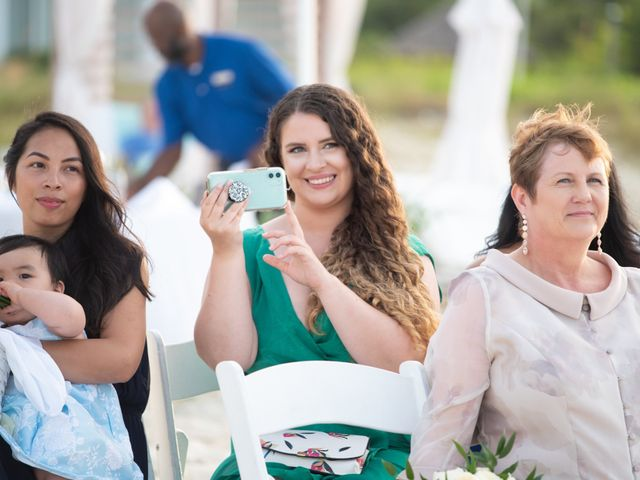 Jonathan and Natasha's Wedding in Grace Bay, Turks and Caicos 29