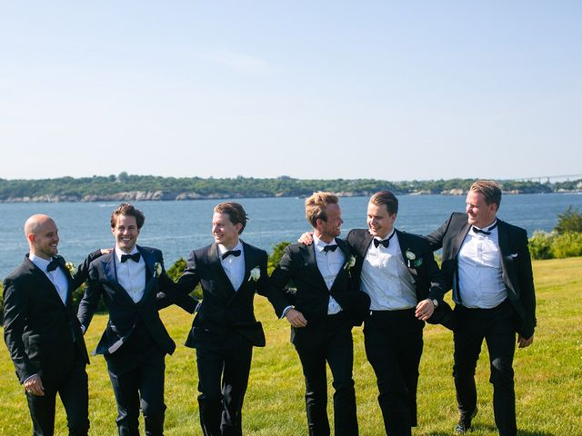 Claes and Ines's Wedding in Newport, Rhode Island 57
