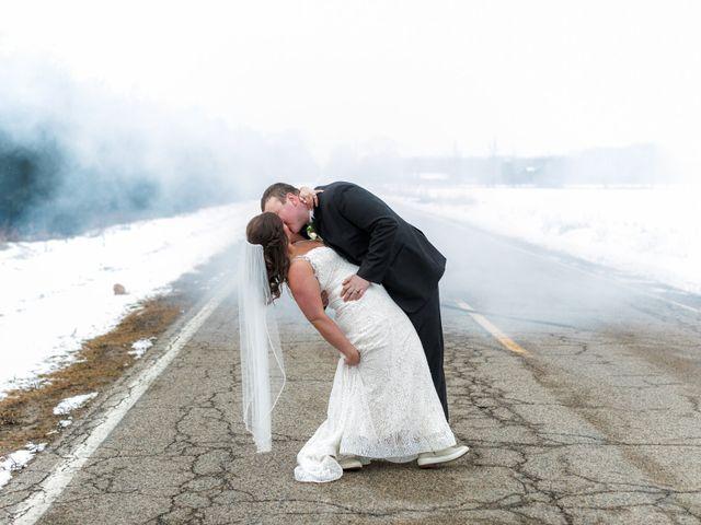 The wedding of Megan and Joe