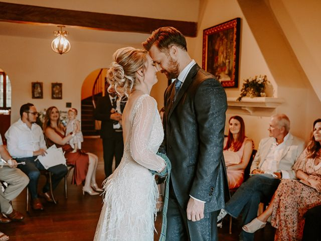 Ben and Caitlin's Wedding in Winter Park, Florida 33