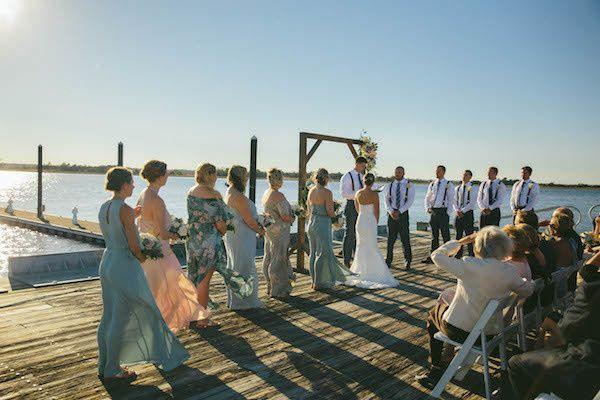 Mary and Ben's Wedding in Wilmington, North Carolina 7