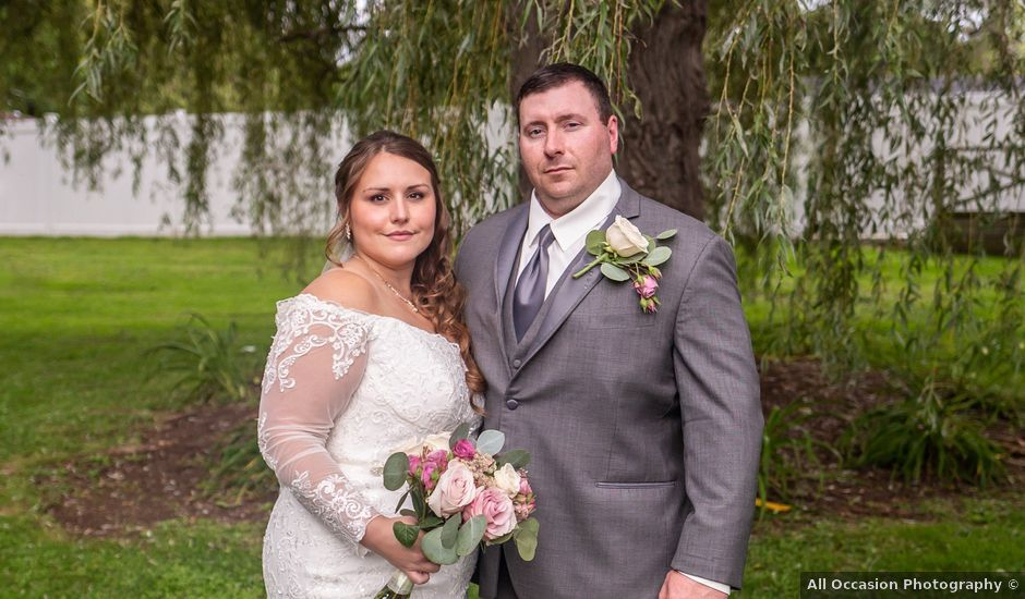 Lydia and Wade's Wedding in Vernon, New York