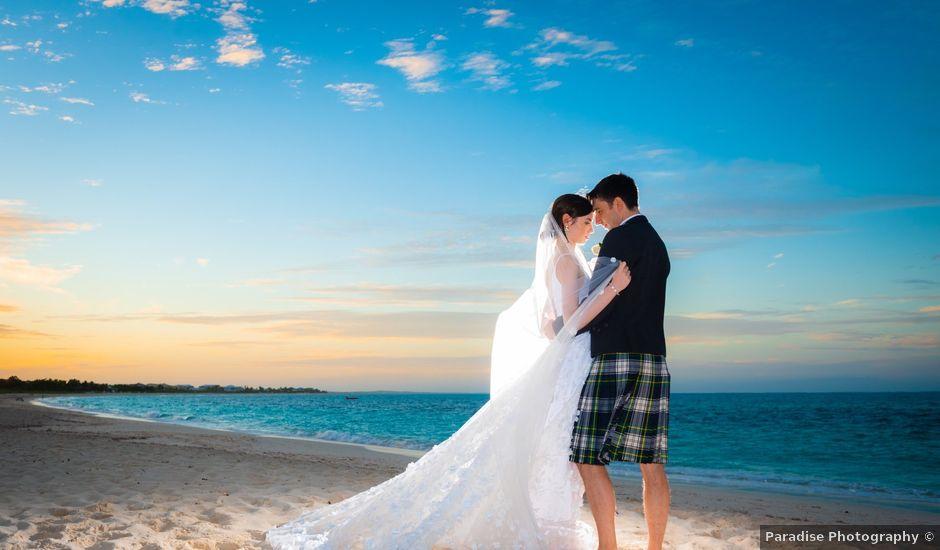 Jonathan and Natasha's Wedding in Grace Bay, Turks and Caicos