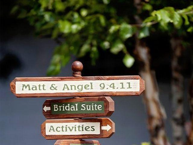 The wedding of Matt and Angel