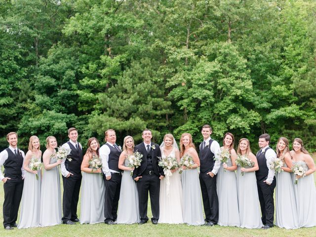 Kelsea and Taylor's Wedding in Pell City, Alabama 13