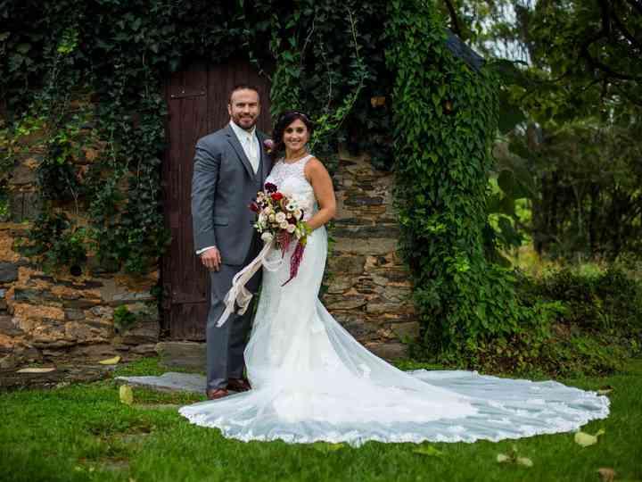 The wedding of Kristin and Chris