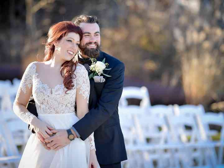 The wedding of Alysha and James