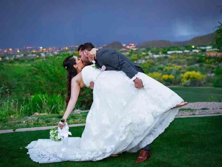 The wedding of Kerra and Bryan