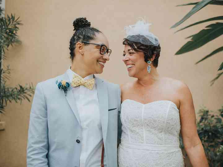 The wedding of Nicole and Tonya