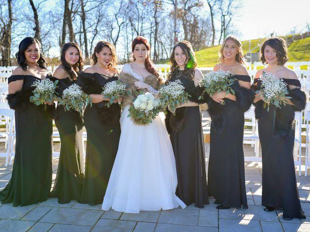 James and Alysha's Wedding in Vernon, New Jersey 11