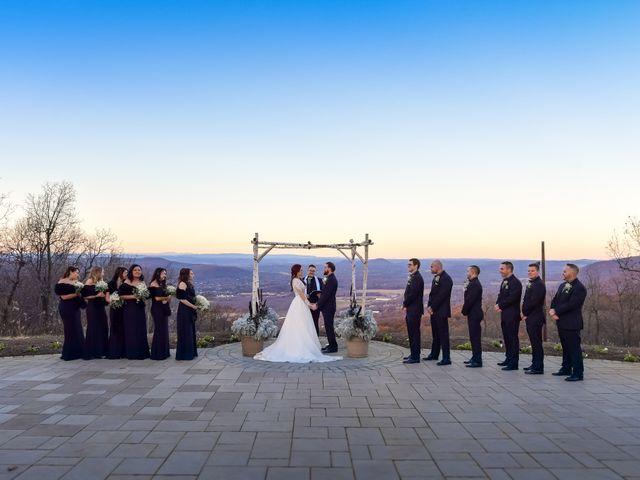 James and Alysha's Wedding in Vernon, New Jersey 40